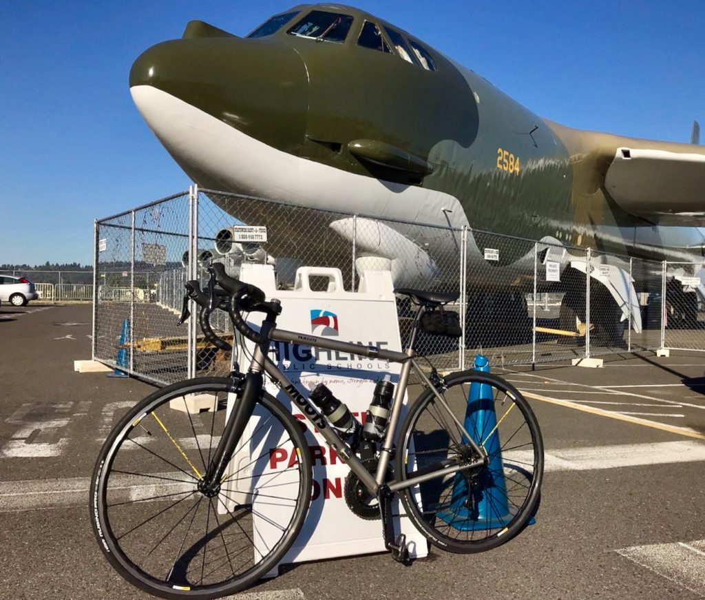 Moots Community Above Is The Circuit Board Which Attaches To Your Spokes Below A Past Boeing Factory And Museum I Couldnt Help But Marvel At Similarities Between American Made B 52s That Are Still Flying Over 50 Years